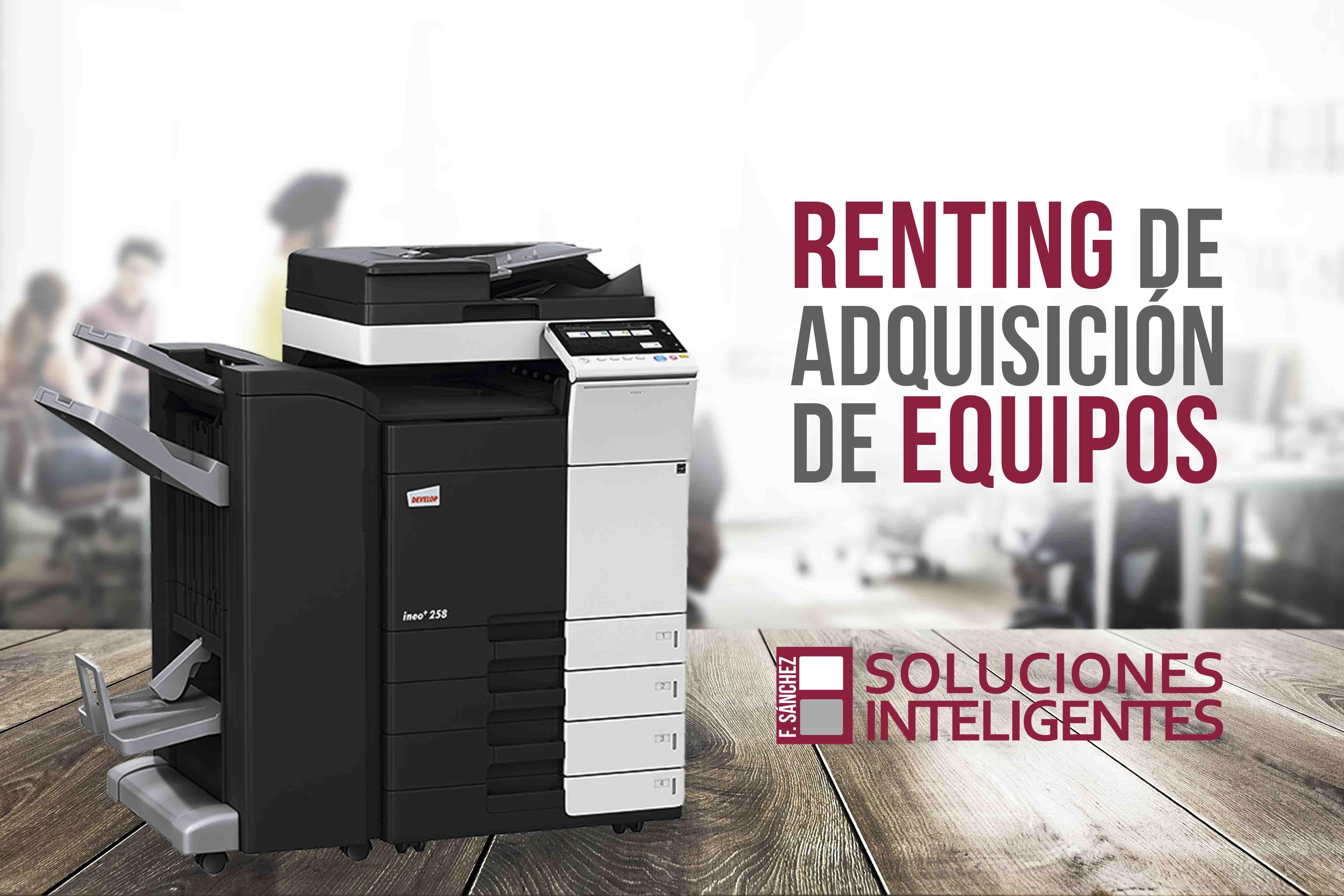 Adquisición de equipos multifunción en Cartagena
