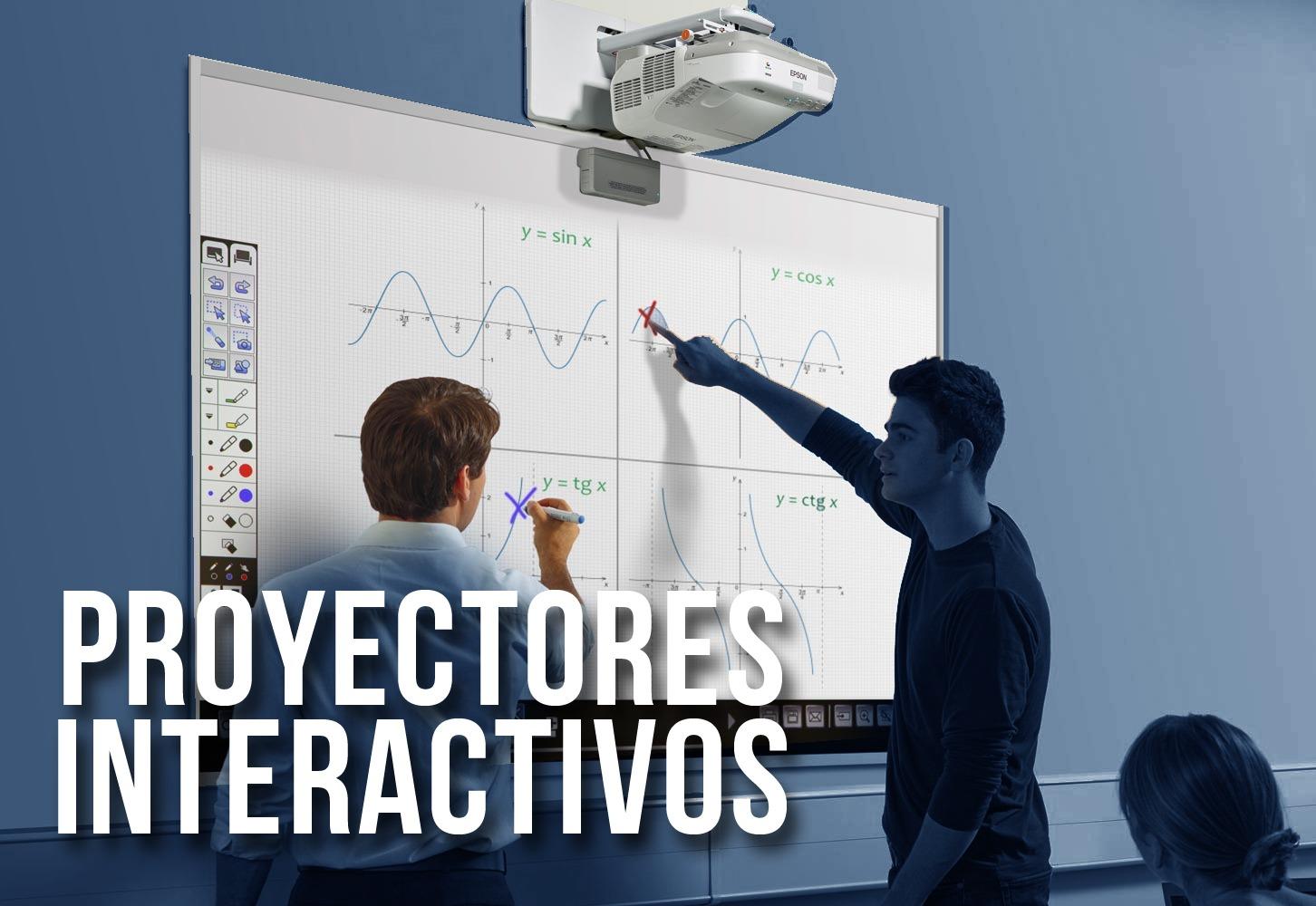 Proyectores Interactivos Educación