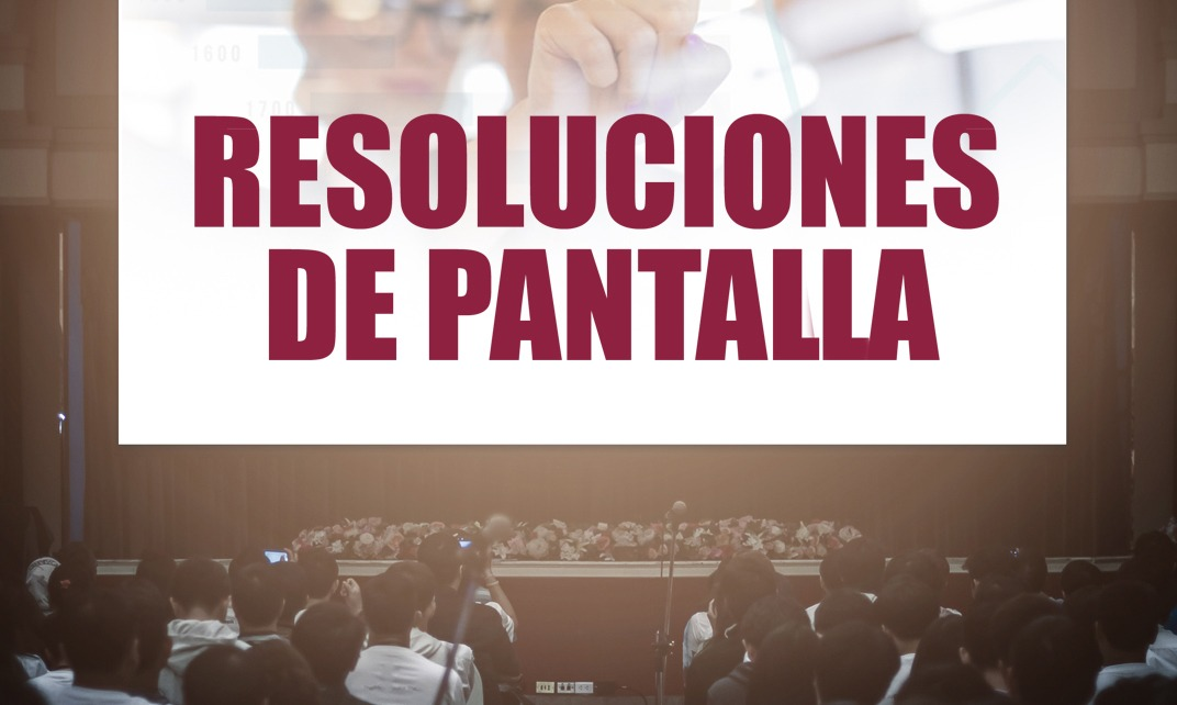 pantallas de varias resoluciones
