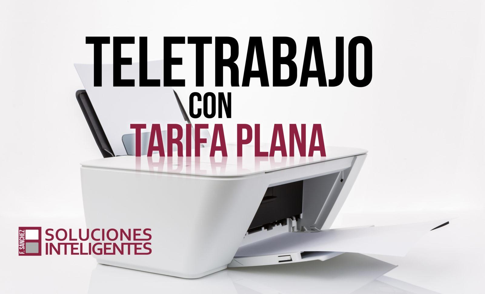 Teletrabajo con tarifa plana en Soluciones Inteligentes