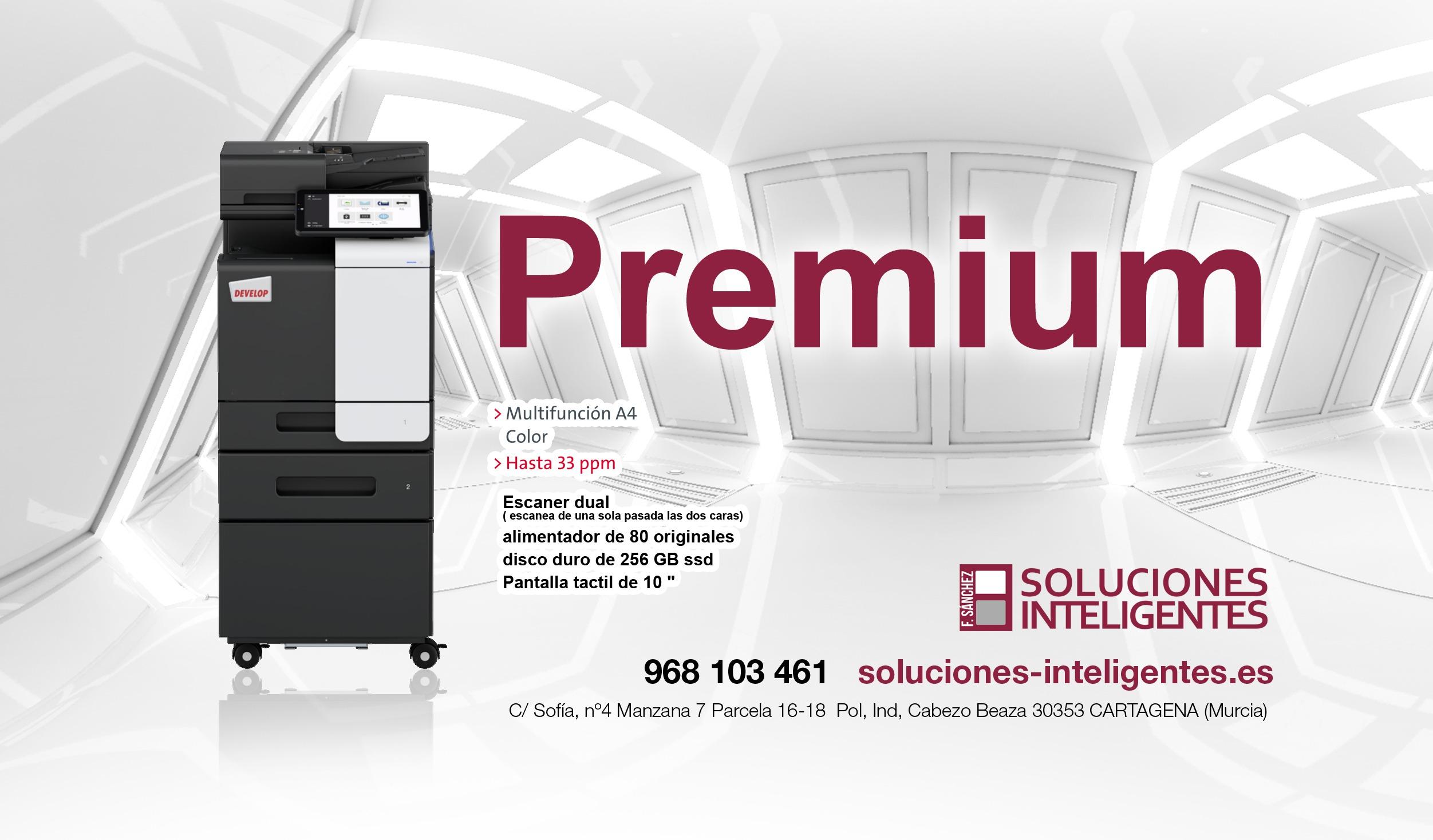 impresora multifunción premium color,